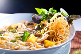 Beef noodle soup from Hue